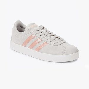 adidas   NEW VL COURT 2.0 Sneakers Grey Pink US8.5